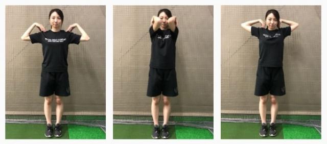 ゴルフスイングに必要な柔軟性と筋力を強化!二の腕引き締めエクササイズ