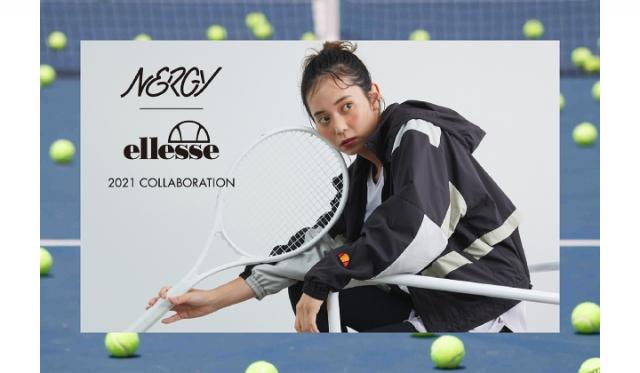 【ナージー】が人気テニスウエアブランド「エレッセ」と初コラボレーション