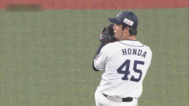 埼玉西武ライオンズ・本田圭佑投手