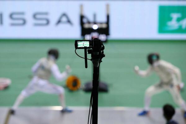 コロナ禍の無観客開催だった2020年9月の日本選手権では、映像技術を駆使した新たな試みも導入してAbemaTVでも配信された