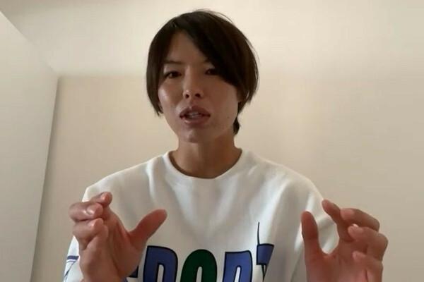 """10月6日に開幕するUWCLに向けて、意気込みを語ってくれた熊谷。新天地バイエルンで、これまでとは異なる役割を与えられた""""ニュー熊谷紗希""""に注目したい"""