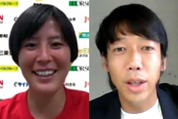 猶本光選手が、中村憲剛さんのプレーを参考にしていたこともあり、サッカー感や思考について話を聞くことができれば、と今回の対談は実現