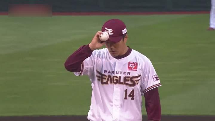 東北楽天ゴールデンイーグルス・則本昂大投手